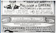 1930'S SIGNS
