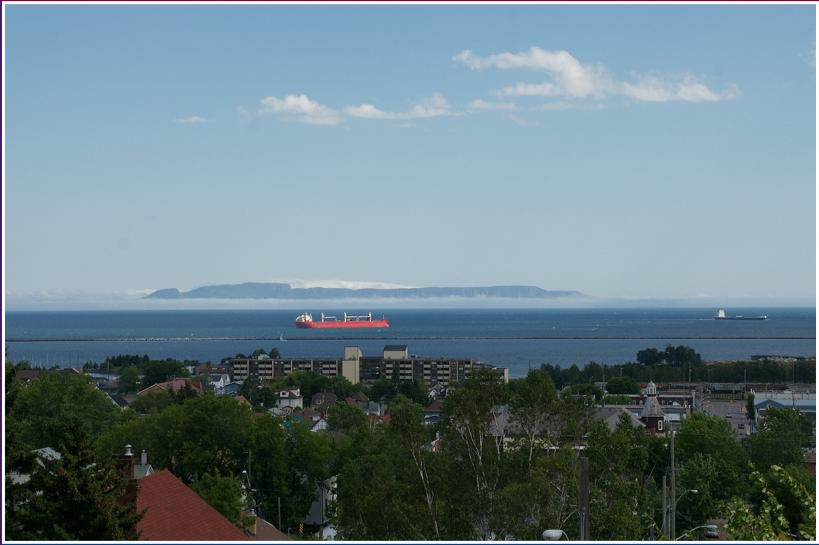 FINLANDIA CLUB OF PORT ARTHUR, CITY OF THUNDER BAY, ONTARIO CANADA - SLEEPING GIANT, LAKE SUPERIOR